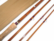Sharpes for Farlow 13' impregnated split cane Salmon fly rod with spliced joi...