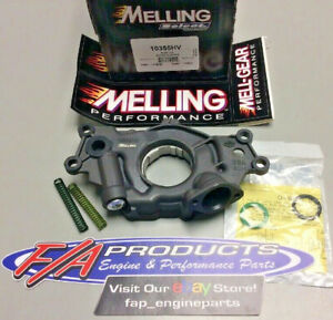 Melling 10355HV 2006-2017 Chevy LS Engines High Volume Performance Oil Pump