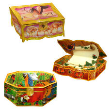 75 Butterfly and Exotic Birds Trompe-l'oeil Box Gift Cards EG0014