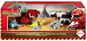 Dinotrux Construction Vs Destruction 5 Piece Gift set - Brand New