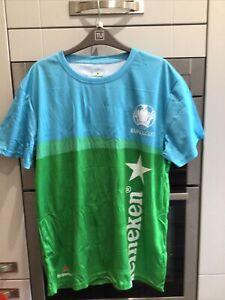 HEINEKEN EURO 2020 FOOTBALL T-SHIRT. BRAND NEW. SIZE SMALL
