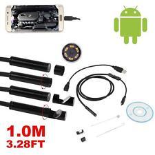 1M Mini Waterproof 6 LED USB Endoscope Borescope Snake Inspection Tube Camera UP
