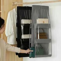 Aufbewahrungstasche Hängender Käfig Falten Handtaschen-Organizer 6 Tasche