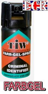 NEW FARBGEL INDENTIFIER PERSONAL SELF DEFENCE SPRAY NONTOXIC UK LEGAL FARB GEL