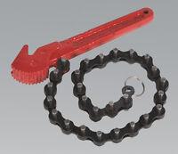 Sealey AK6410 Ölfilter Kette Schlüssel Ø60-106mm Kapazität