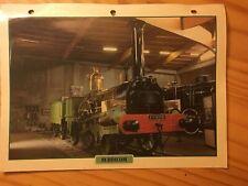 001 Buddicom 1846 Fiche collection ATLAS trains de légende carte chemin de fer