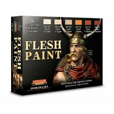 Lifecolor CS13 Flesh Paint Diorama Set 6 x 22 ml (100ml = 13,64€) Acrylfarben