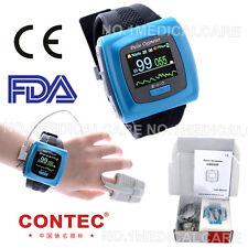 CONTE CE FDA CMS-50F Wrist Pulse Oximeter,Spo2 Monitor Daily And Overnight Sleep