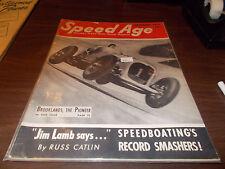SPEED AGE MAGAZINE September 1951