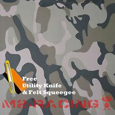 "*12""x60"" Large Army CAMO Camouflage Desert Vinyl Sticker Wrap Decal Steet Film"