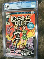 Logan's Run #6 35 cent price variant CGC 9.0 1st Solo Thanos!