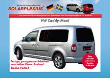 Autosonnenschutz Scheibentönung Verdunklung VW CADDY MAXI Bj. 2003-15
