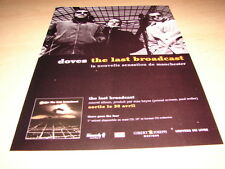 DOVES - LAST BROADCAST!!!!!!!!!!!!!!FRENCH PRESS ADVERT
