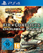 Air Conflicts: Double Pack (2 in1) vietnam + Pacific carriers ps4 nuevo