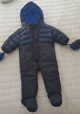 Ted Baker All In One Navy Coat 9-12 Months
