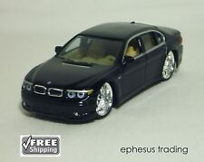 Hot Wheels dropstars BMW E66 760Li 760 AC Schnitzer ACS7 V12 Black Tan 1/50 MINT