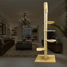 "Max.108.2""H Large Cat Tree Floor to Ceiling Tower"