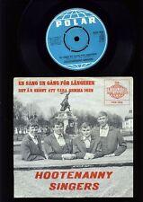 Abba-Hootenanny Singers-en Sang en Gang för längesen - 7 Inch Vinyl-Sweden