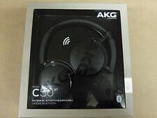 AKG C50BT High Performance Bluetooth on-ear headphones w/ microphone Black