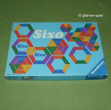 SIXO Legespiel für Kinder von 4-10 Jahren von Ravensburger ©1974 RAR kultig TOP!