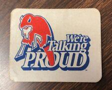 Vintage Buffalo Bills Vinyl Decal Sticker NEW UNUSED We're Talking Proud
