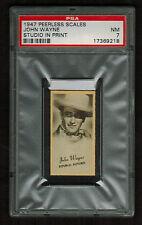 PSA 7 JOHN WAYNE 1947 J.C Penney Peerless Portraits of Movie Stars Card