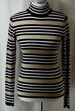 Reference Point New York, small, Striped Mock Neck Sweater, New without Tags