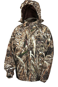 Drake Waterfowl Youth EST Rain Coat Max 5 Size 14 100% Water & Rain Proof DW2590