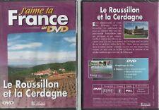 J'AIME LA FRANCE EN DVD - LE ROUSSILLON ET LA CERDAGNE - DVD NEUF