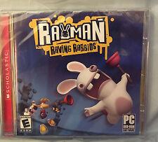 NEW - Rayman Raving Rabbids (PC, DVD-ROM) Free shipping!