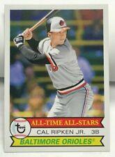 Cal Ripken Jr 2019 Topps Retroceso Thursday 1979 All-Time Star Diseño #153 Sp /