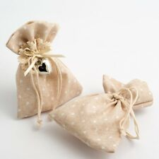 Drawstring Favour Bags 1, 5 or 10 Pack Wedding Christmas Hessian Linen Fabric