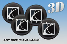 SATURN center wheel cap decals emblems stickers 4 pcs :: Any size :: s/b