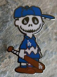 Los Angeles Dodgers Charlie Brown dia de los muertos Pin