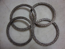 SET OF 4 S&S CYCLE EXHAUST GASKETS 1984-UP V2 BIG DOG HARLEY IRONHORSE 90-1005