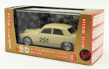Brumm 1/43 Scale Model Car R90 - 1950 Alfa Romeo 1900 Mille Miglia