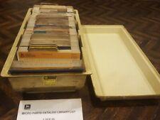 John Deere Lawn Tractors &Other Power Equipment Parts Manuals On Microfiche Huge