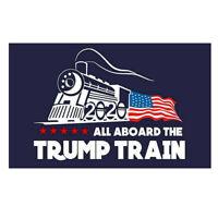 All Aboard The TRUMP TRAIN 2020 Donald President Car Window Bumper Sticker Decal