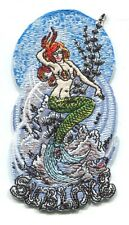 SUBLIME mermaid design EMBROIDERED IRON-ON PATCH **FREE SHIPPING** p4090 surfing