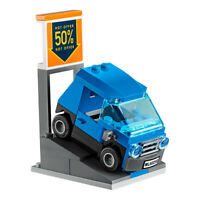 LEGO City Smart Car And Vehicle Sale Ramp Stand Train Town Scene Gift