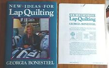 1987 New Ideas For Lap Quilting  Georgia Bonesteel Hardcover 159 Pages