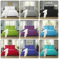 BRANDED~PLAIN Sheet Fitted Flat Pillowcas 1000 Thread Count Cotton Solid AllSzie