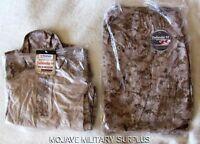 NWT USMC Desert Digital Frog Shirt and Frog Pants COMBO Size: LARGE REGULAR