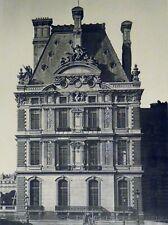 Pierre Lampué Pavillon de Flore Tuileries Paris Héliogravure XIXème