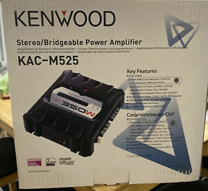 Kenwood KAC M 525 Stereo Power Amplifier Brand New