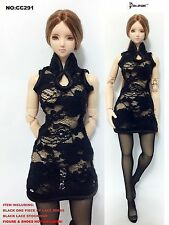 CC291 1/6 Clothing-Chinese One-piece of lace dress for HOT TOYS,CY COOL GIRL CG