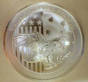 2016 Australian Silver 50 Cents Coin Victory 1945 1/2 Troy Oz .9999 FINE BULLION