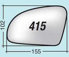 Vetro specchio retrovisore Mercedes SLK 350 dal 2011 in poi destro ASF415D