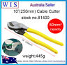 """10""""(250mm) HD CABLE CUTTERS for Copper & Aluminium Cable up to 50mm² -81400"""