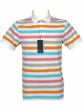 Fred Perry Short Sleeve Striped Casual Shirts & Tops for Men